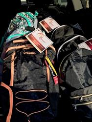 Click to view album: Backpacks for Sheltered Children